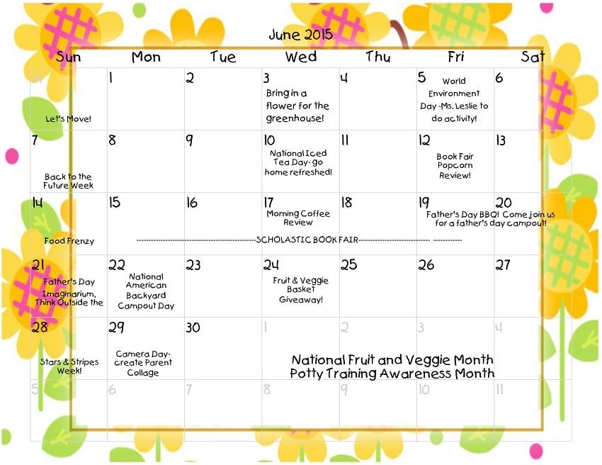 Young Scholars Academy Calendar 06-2015