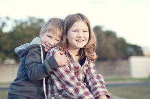 siblings in a preschool