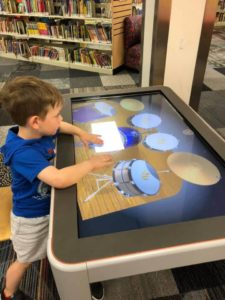 fun with technology at the library