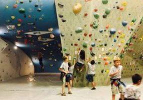 child climbing